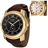 ROTARY Watches:Men's Revelation Reversible Face Brown Leather