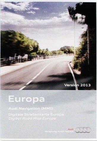 Kartenmaterial MMi 2G Europa 2013