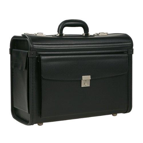 Dermata Business Pilotenkoffer 46 cm schwarz