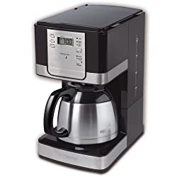 Mr. Coffee JWTX95 8-Cup Thermal Coffeemaker, Black by Mr. Coffee