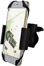 IPOW   バイク 自転車用スマートフォンホルダー 360度回転 ナビ用マウントキット マウントホルダー  Iphone、Samsung、HTC、 Nokia 、Blackberry、sony 、Lgなど携帯、GPS に対応 ブラック