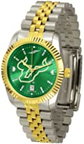 South Florida Bulls USF NCAA Mens 23Kt Executive Watch