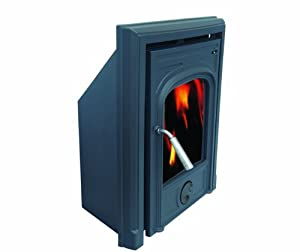 Lawrence 5 kW MultifuelInset Cast Iron Stove with CE approval