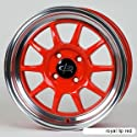 Rota GT3 Royal Lip Red (15x7.0 +40 4x100) -- Set of 4 Wheels