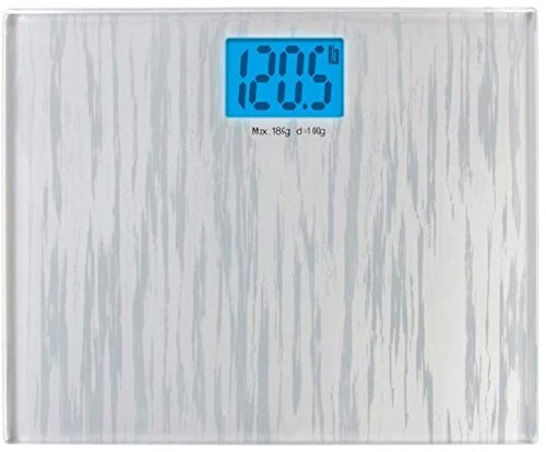 Large Glass Electronic Bathroom Scale