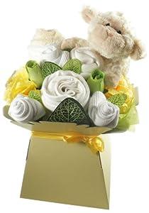 Caja de Flores de Ropita Unisex Say It Baby por Say It Baby en BebeHogar.com