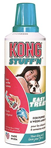 KONG Stuff'N Easy Treat, 8-Ounce, Puppy