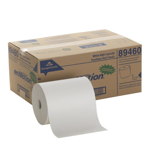 georgia-pacific-enmotion-894-60-800-length-x-10-width-white-high-capacity-touchless-roll-towel-roll-