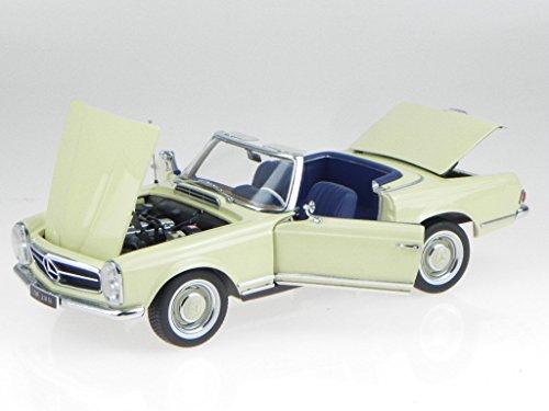 Noreve Mercedes W113 230 SL Pagode IAA 1963 beige Modellauto Norev 1:18