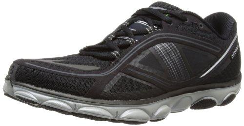 Brooks Mens Pureflow 3 Running Shoes 1101621D008 Black/Silver 7.5 UK, 42 EU, 8.5 US Regular