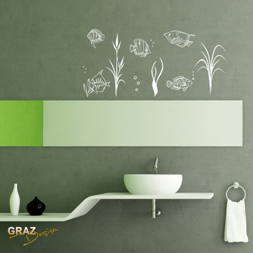 Baño Pintado De Verde:Sticker de Pared Wall Sticker Pegatinas para pared Baños para bano