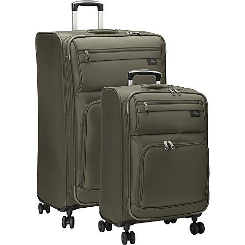 skyway-sigma-50-2-piece-luggage-set-forest-green