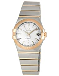 Omega Men's 123.20.35.60.02.001 Constellation Silver Dial Watch