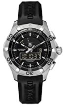 TAG Heuer Men s CAF1010 FT8011 Aquaracer Chronotimer Watch