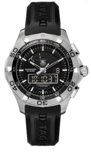 TAG Heuer Men's Aquaracer Chronotimer Watch #CAF1010.FT8011