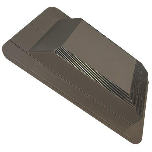 Duraflo 60PRO50SLBR 50-Square Inch Weatherpro Slantback Roof Vent, Brown