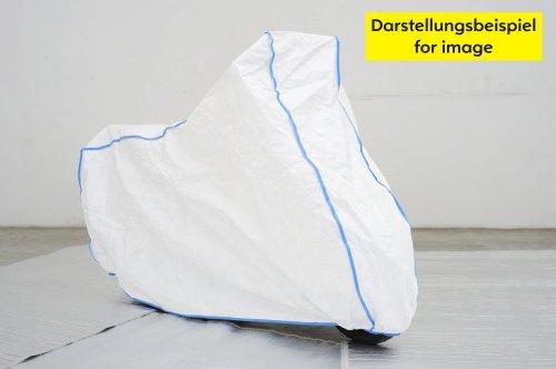 garage-de-moto-housse-de-moto-HONDA-CBF-500-600-600-N-600-S-600-ABS-1000-ST-sans-accessoires-excl-de-TYVEK-couleur-blanc-avec-un-sac