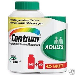 Centrum Adults Multivitamin Multimineral Supplement: 425 Tablets