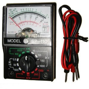 Analog Multimeter Multi Circuit Tester Voltage Meter
