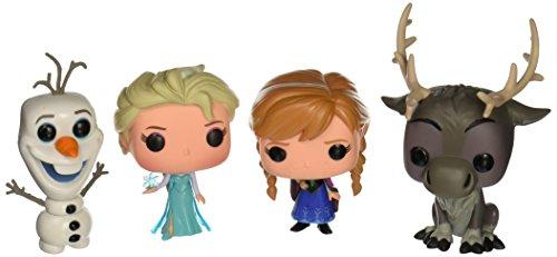 Funko Disney Frozen Pop! Vinyl Set (Anna, Elsa, Olaf, Sven)