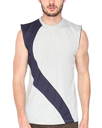 Campus-Sutra-Grey-Dry-Fit-Sleeveless-Tshirt