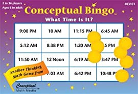 Conceptual Bingo - What Time Is It?