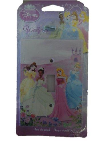 Disney Princess Light Switch Wall Plate front-103866