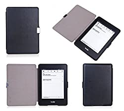 Bear Motion for Kindle Paperwhite - Premium Slim Case Cover for Kindle Paperwhite and the All-New Kindle Paperwhite (does not fit Kindle or Kindle Touch) - Black