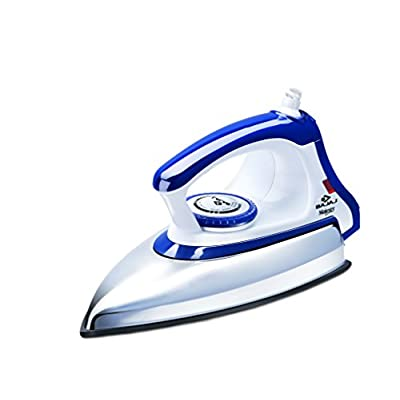 Bajaj Majesty DX 11 1000-Watt Dry Iron (Blue/White)