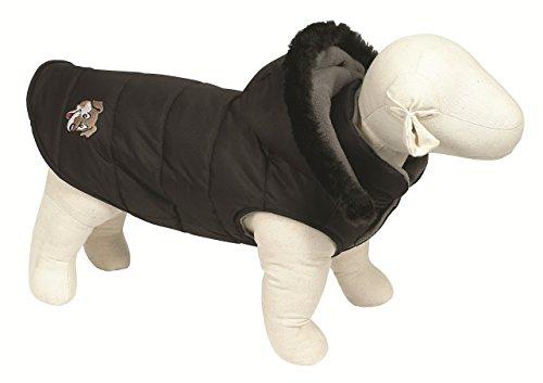 Artikelbild: Doggy Things Hundemantel Puffa Jacket, S, schwarz