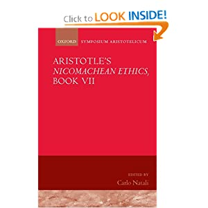 Amazon.com: Aristotle's Nicomachean Ethics, Book VII: Symposium ...