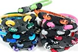 "Package of 10 Assorted Sports Bracelets - 7"" Length"