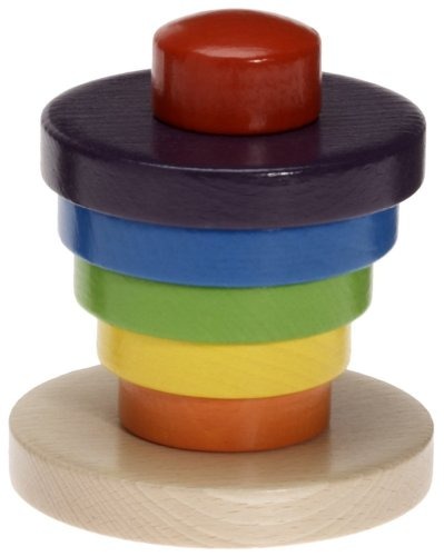 Haba Rainbow Tower (7 pcs) - 1
