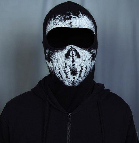 Call Of Duty 10 Cod Ghosts Logan Balaclava Ski Skull Hood: Call Of Duty Ghost Mask Cool 04 ()