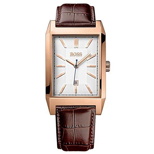 Hugo Boss Architecture Rectangular 1513075 Reloj de Pulsera para hombres Clásico & sencillo