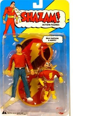DC Direct Shazam! Action Figure Billy Batson with Hoppy by DC Comics (Billy Batson Action Figure compare prices)