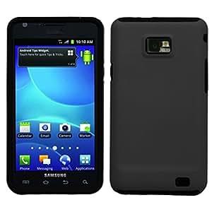 MyBat SAMI777HPCFSSO306NP Hybrid Fusion Protective Case for Samsung Galaxy S2 i777 - 1 Pack - Retail Packaging - Black