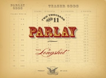 2011 Parlay - The Longshot Chardonnay 750 Ml