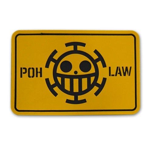 ワンピース ハートの海賊団 PVCパッチ
