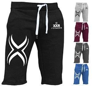 XXR X1 Mens Fleece Shorts Jogging Bottom Joggers MMA Boxing Gym Fitness  Sweat Shorts Casual Home Wear