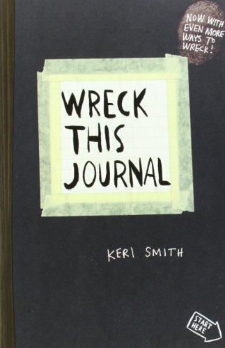 Gift Idea: Wreck This Journal: To Create is to Destroy, Now with Even More Ways to Wreck!