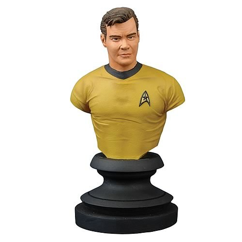 Star Trek Icons: Captain Kirk Bust - Buy Star Trek Icons: Captain Kirk Bust - Purchase Star Trek Icons: Captain Kirk Bust (Star Trek: Statues & Busts, Toys & Games,Categories,Action Figures,Statues Maquettes & Busts)