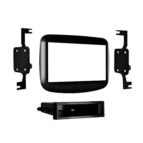 Metra95-6517Hg Dodge Dart Double Din Mounting Kit 2013-Up, (High Gloss Black)