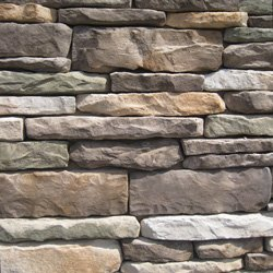Manufactured Stone Veneer - Ledgestone Collection Mossy Creek / Pack L