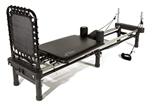 Stamina AeroPilates 700 Premier Reformer with Stand, Cardio Rebounder, Neck Pillow and DVDs