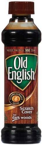Old English - Scratch Cover For Dark Wood 8 Ounce.(Pack of 2)