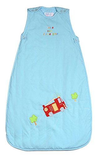 The Dream Bag Baby Sleeping Bag Fire Engine 6-18 Months 1.0 Tog - Cream