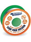 """MG Chemicals 4900 SAC305, 96.3% Tin, 0.7% Copper, 3% Silver, No Clean Lead Free Solder, 0.032"""" Diameter"""