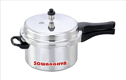 SOWBAGHYA-ALU03-Aluminium-3-L-Pressure-Cooker