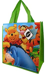 Disney Winnie The Pooh Tote Bag With Tiger And Eeyore - 13 X 14 X 6 Inches by Disney